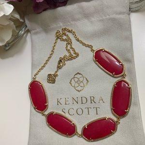 Kendra Scott Valencia maroon jade